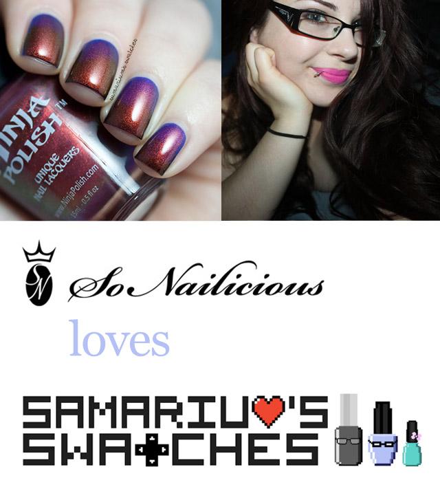 best nail blog, samariums swatches blog