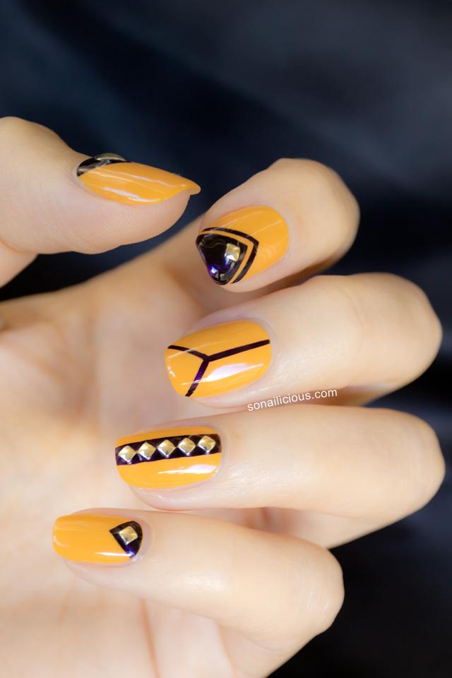 biosculpture nail design