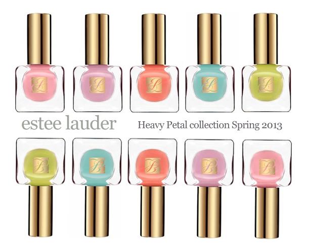 estee lauder heavy petals collection spring 2013