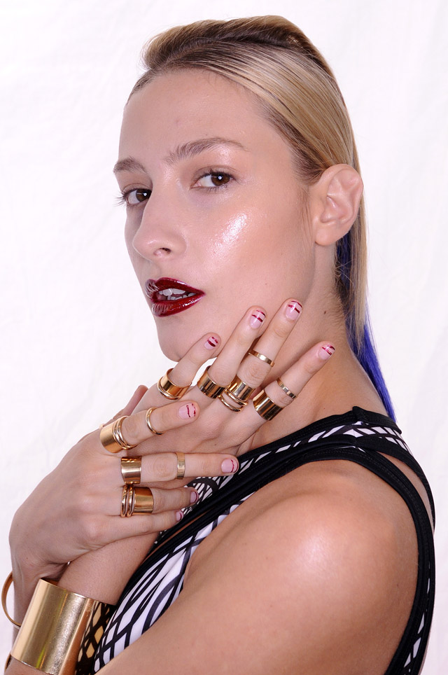 Lisa Ho MBFWA 2013 nails
