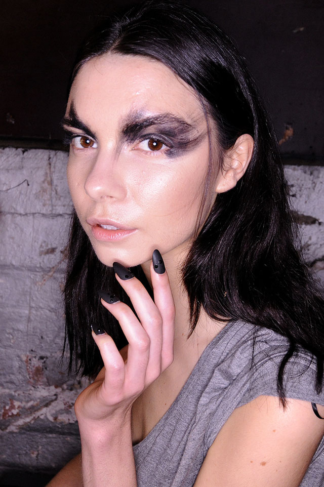 MBFWA 2013 aurelio costarella beauty