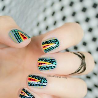MBFWA nail art
