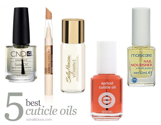 best cuticle oil
