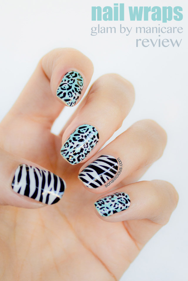glam manicare nail wraps 1