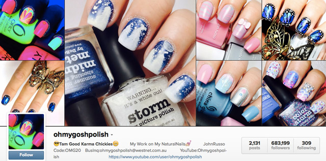 ohmygoshpolish nails instagram