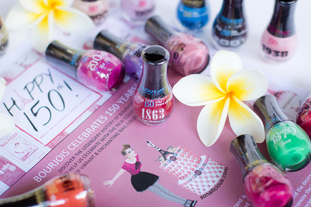 BOURJOIS 150TH ANNIVERSARY MINI POLISHES