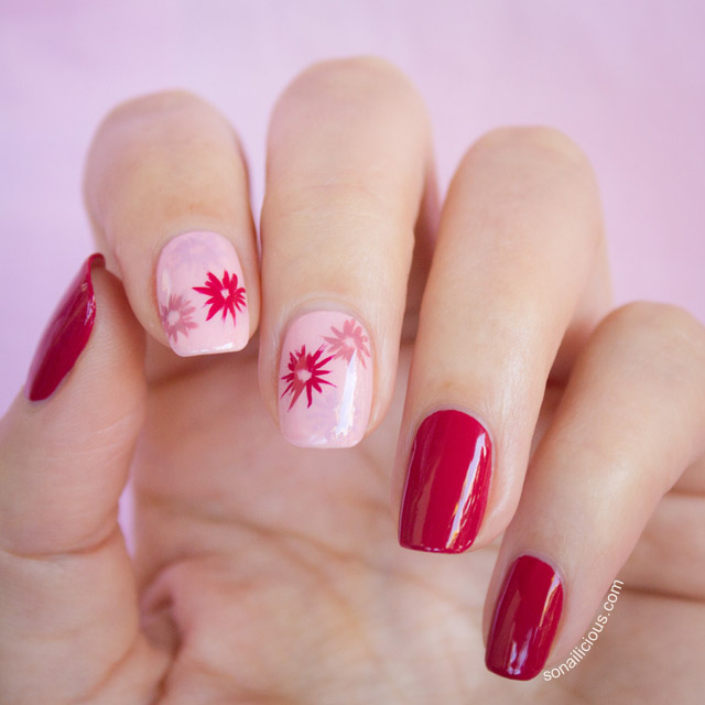 RED NAIL ART, RED NAILS DESIGN