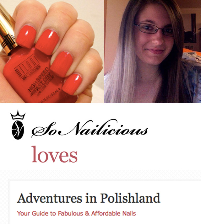 adventures in polishland, nail blog