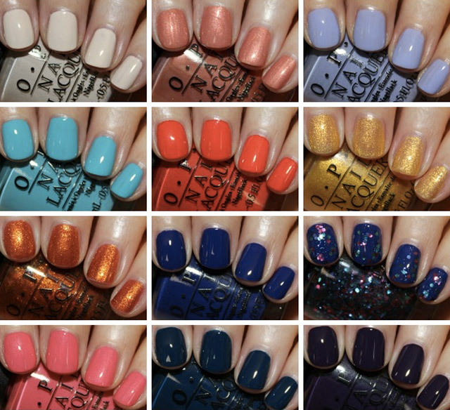 opi euro centrale swatches