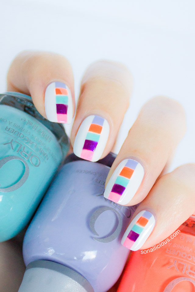 orly nails summer 2013 nails