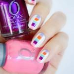 ORLY Mash Up – Colour Blocking Nails