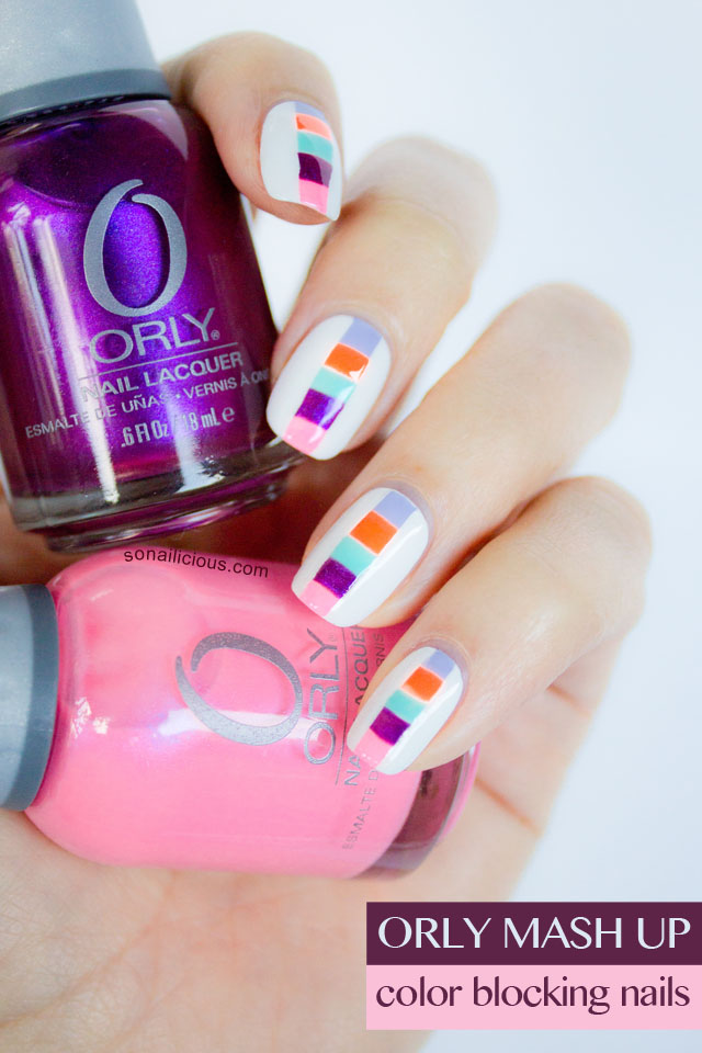 orly polish, mash up nail collection