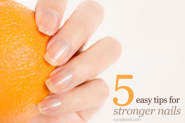best tips for stronger nails