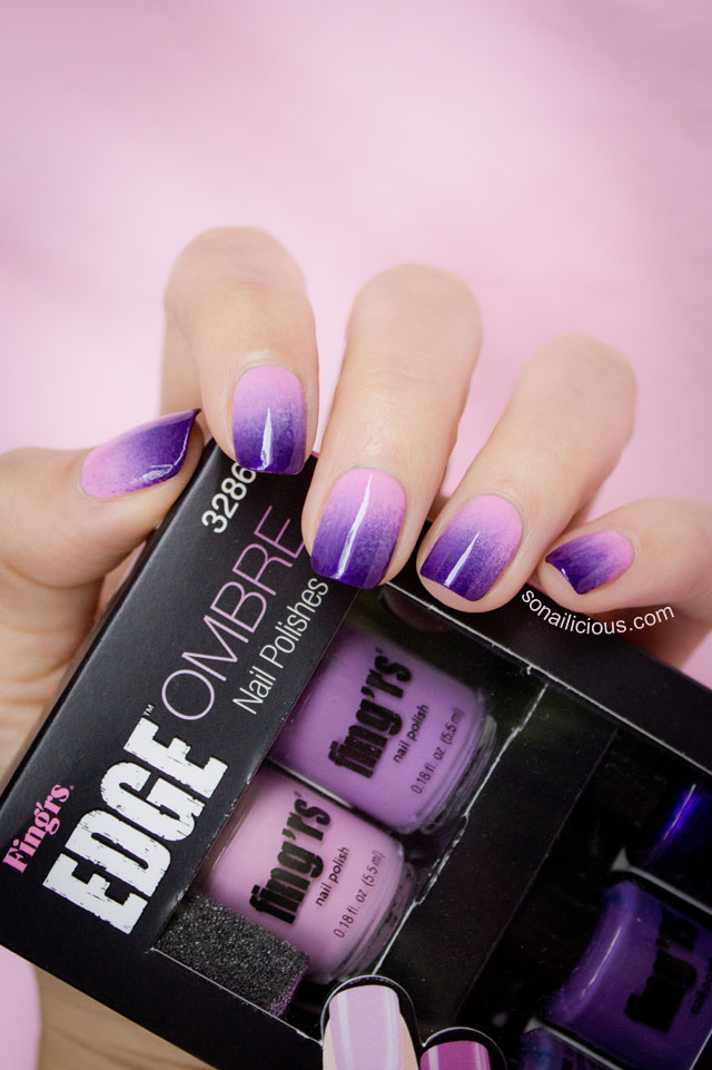 fingrs edge ombre nails review