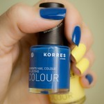 Korres Ocean Blue and Bright Yellow – Review & Swatches