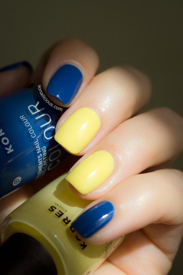 korres nail polish swatches