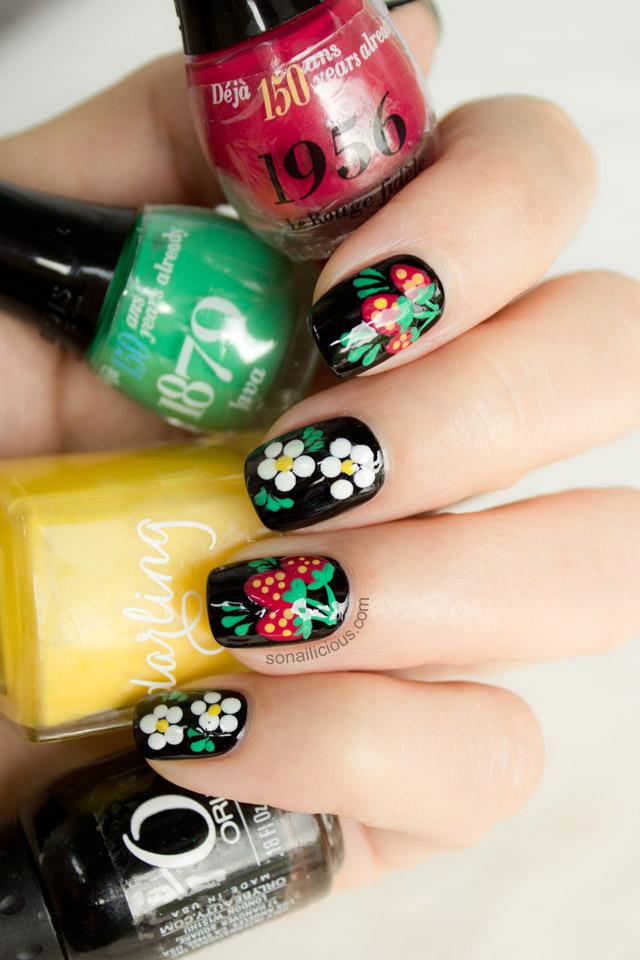 pretty russian nails