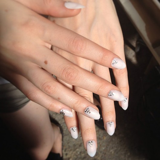 Deborah Lippmann's nails at Honor