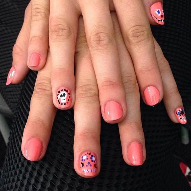 Rebecca Minkoff nail art perfection - essie