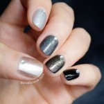 Ombre Black Nails with Jacqueline Burchell Kit & Review