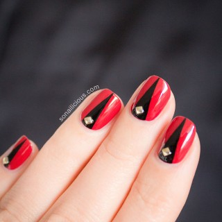 halloween nail art tutorial 1