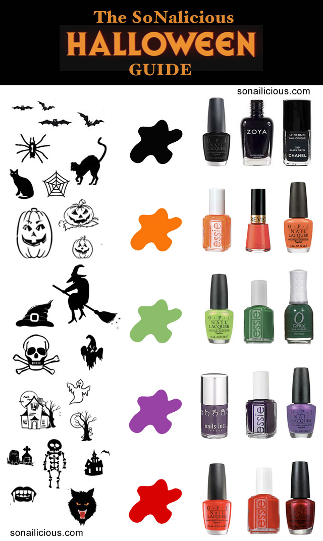 halloween nails guide