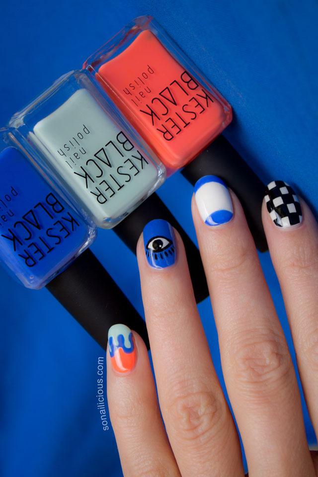 kenzo nail art