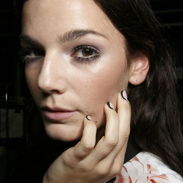 spring nail designs london fashion week braganza
