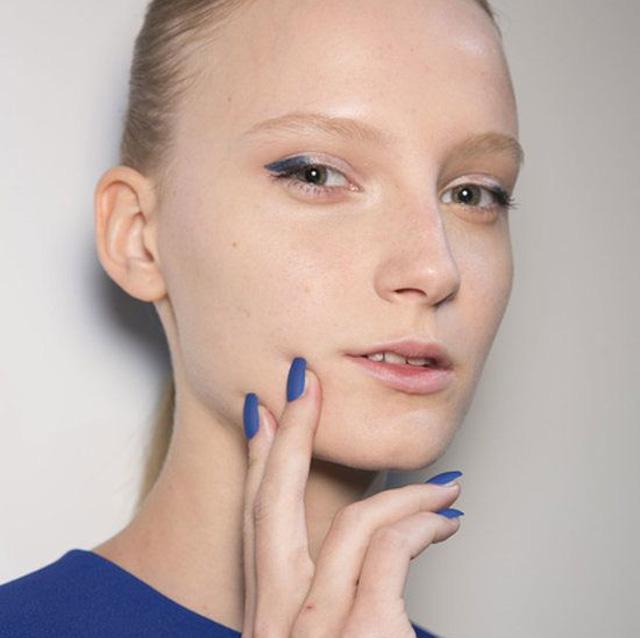 nail designs london fashion week david koma nails