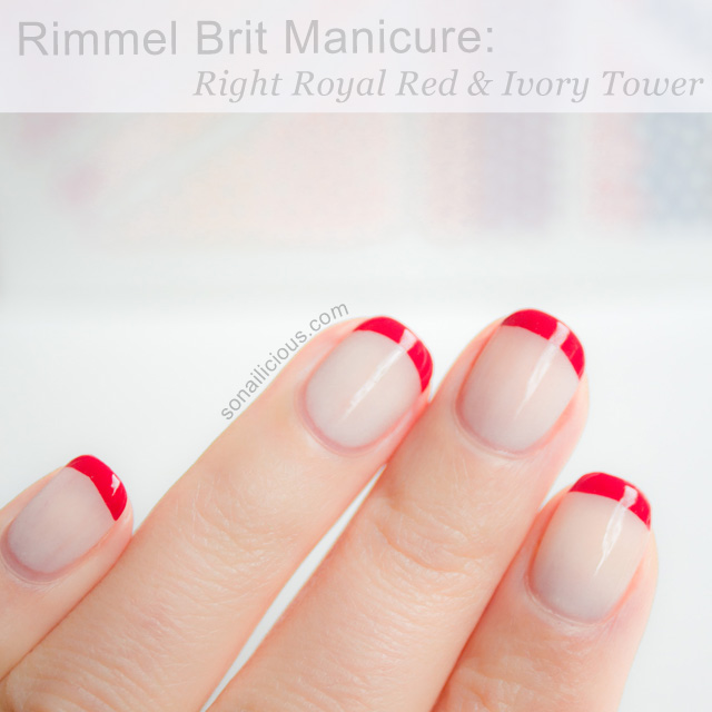 Rimmel London french manicure