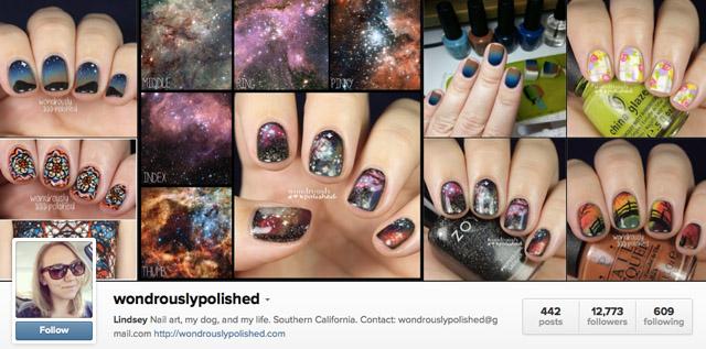 Wondrouslypolished nail instagram account