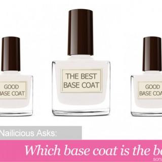 best base coat nail polish