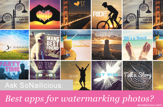 best iphone apps for watermarking photos