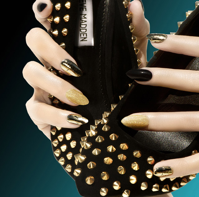jenna hipp nail art for steve madden