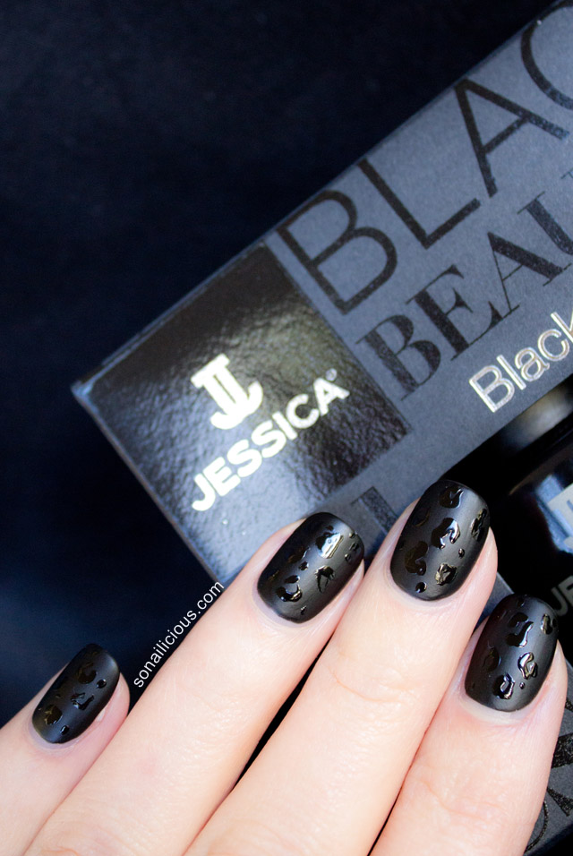 jessica black beauties review swatches