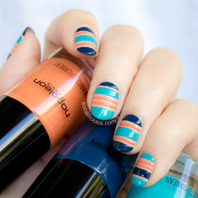 negative space nails tutorial 1