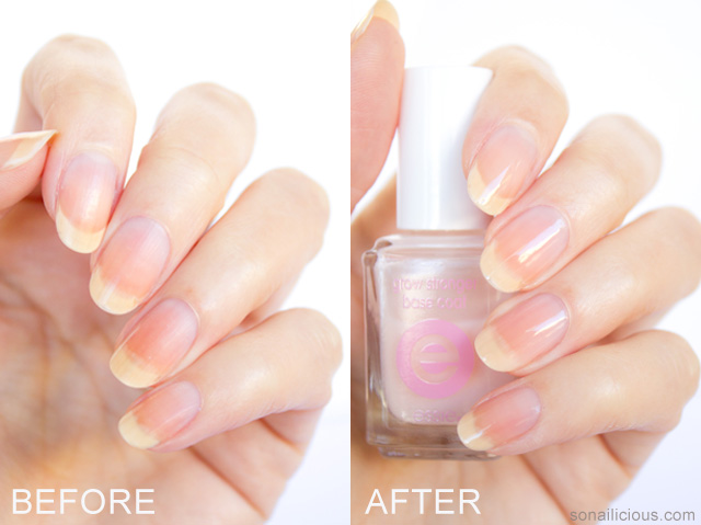 essie grow stronger review