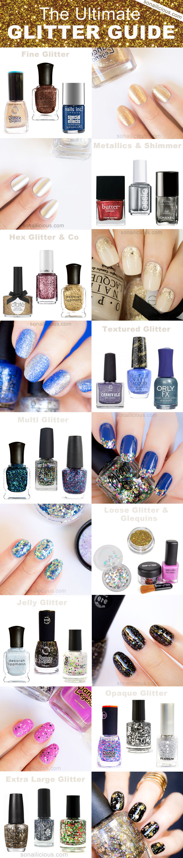 glitter nails ultimate guide