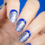 Ruffian Ikat Nails With Incoco Nail Strips – Tutorial