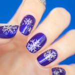 Tutorial: Snowflake Nails