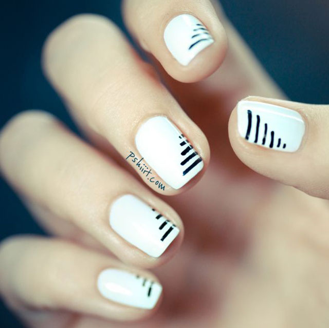 White nails by Pshiiit