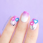 Love Heart Valentine's Day Nails. Plus, 8 Awesome Facts About Fimos