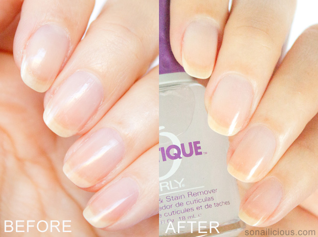 ORLY CUTIQUE cuticle remover review before and after