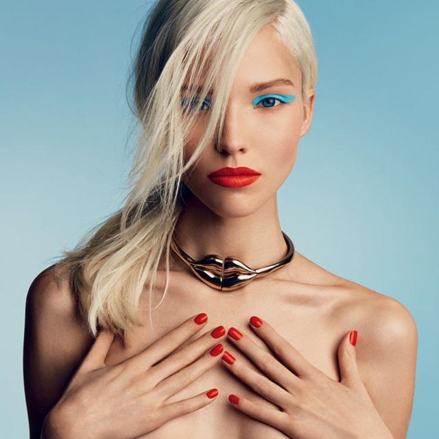 Sasha Luss in Vogue Russia 2014