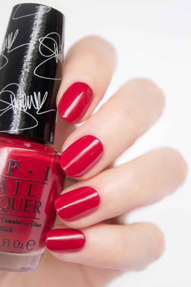 opi gwen stefani red nail polish
