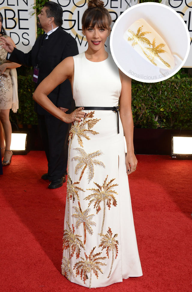 rashida jones golden globes 2014 best dresses