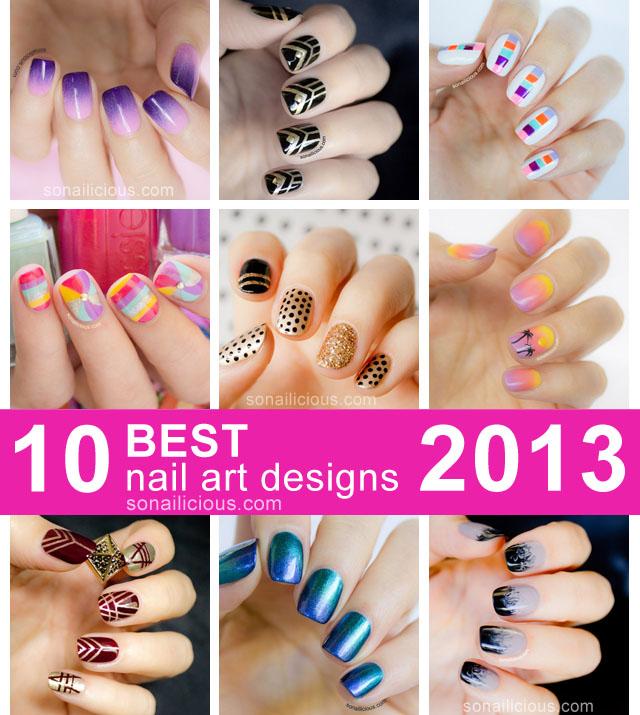 10 best nail designs 2013