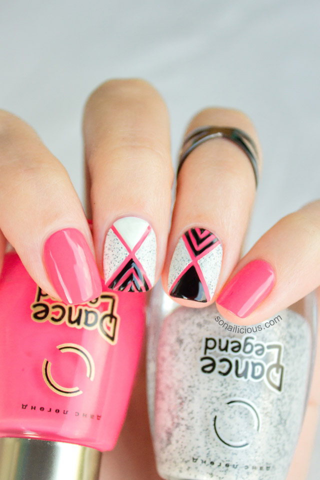 textured nail polish nail art tutorial
