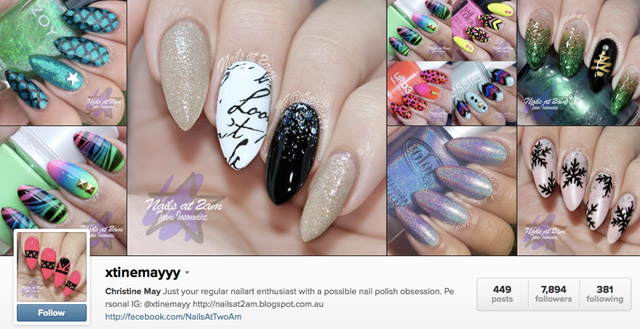 xstinemayyy instagram nails