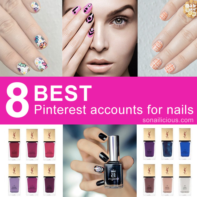 8 best pinterest accounts nails and beauty